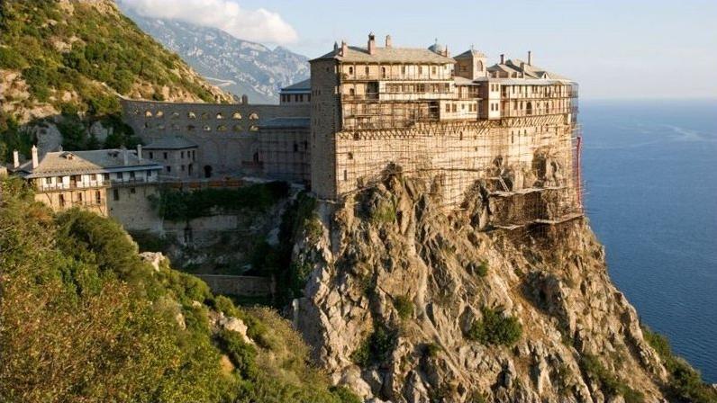 Афонские монастыри смотреть онлайн